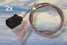 2x 25cm Reparatur-Leitung 0,50mm Stecker 1J0973702 4x Stossverbinder VW Audi ABS