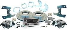 1957-81  F-100 F-150 Ford Truck Rear Disc Brake Kit Drilled/ Slotted Rotors