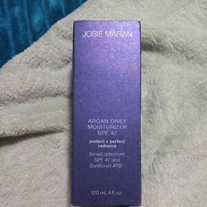 Josie Maran Argan Daily Moisturizer SPF 47 Protect/Perfect Radiance 4 oz  NIB 🐎