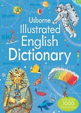 Jane Bingham Usborne Illustrated English Dictionary with over 1000 Illustrations