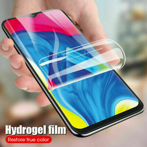 For Samsung Galaxy A51 A71 S21+ S20 S10+ Full Cover Soft Hydrogel Screen Protect