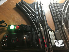 LIONEL 022 POST WAR  REMOTE CONTROL SWITCHES L/R with remotes and bulbs