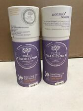 Treets Traditions Bath Fizzers Bath Bombs  2 Packs Total of 6 Fizzers Harmony