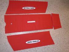 Kawasaki JS 300 440 550 SX Jetski Jet Ski Hydro Turf Mat Kit HT20 Red Diamond