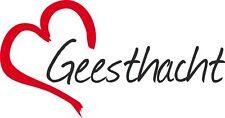 "AUTO Adesivo ""Geesthacht"" Sticker Città Germania circa 8x16cm"