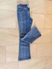 Damen-Bootcut-Jeans in Kurzgröße (en) Hosengröße 40 niedriger Bundhöhe