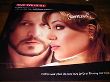 JOHNNY DEPP & ANGELINA JOLIE - PLV en papier 30x30 THE TOURIST !!!!!!!!!!