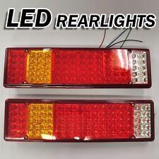 LED feux arrière camion benne camion remorque châssis 24v lot de 2