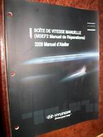 Hyundai boite manuelle M5EF2 : manuel atelier 2009