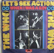 "7"" 70´s RARE ! THE WHO : Let´s See Action // VG \"