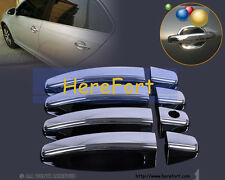 Chrome Car vehicle Door Handle Covers Trim Cap for Peugeot 307 Citroen C2