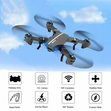 New Drone MiNi Foldable Drone with HD Camera Drones with Camera WiFi FP UK