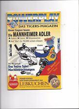 DEL PLAY OFF FINALE Programm: NÜRNBERG ICE TIGERS - MANNHEIM ADLER 18.04.1999
