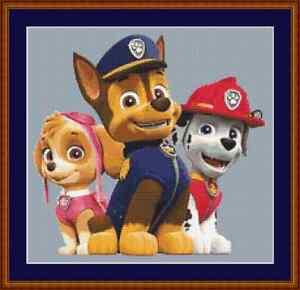 Paw Patrol Cross Stitch Kit