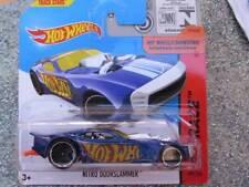 Hot Wheels 2014 #159/250 NITRO DOORSLAMMER blue HW RACE Batch Q