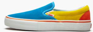 "Vans x The Simpsons ""Bart"" Slip On Pro Unisex Skate Shoes Sneakers Canvas"