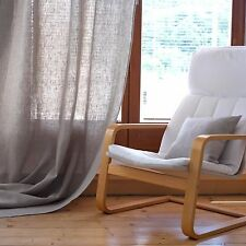 Leinen Gardine/ Vorhang Lesna, Leinen 245 g/m2, Natural
