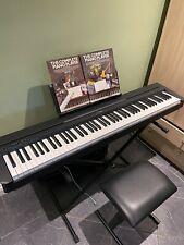 More details for yamaha p45 digital piano 88 weighted keys full package!
