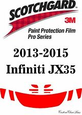 3M Scotchgard Paint Protection Film Pro Series Pre-Cut Fits 2015 Infiniti JX35
