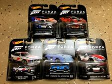 HOT WHEELS RETRO 2017 E SET OF 5 FORZA BMW CLS PAGANI FORD GT 1/64 DMC55-956E