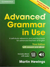 Cambridge ADVANCED GRAMMAR IN USE w Answers & Online THIRD Edit / M Hewings @NEW