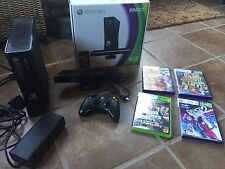 Xbox 360 With Kinect And 4 Games and One Remote