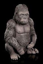 Gorilla Figur - Kong - Affe Deko Silberrücken