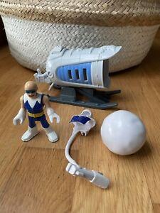 Imaginext Captain Cold ice cannon & figurine - COMPLETE