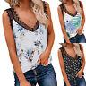 Women Loose Tops Sleeveless Boho T Shirt Tank Top Summer Casual Blouse Tee Vest