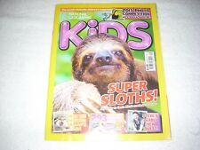 National Geographic Kids Magazine Issue 116 September 2015 Super Sloths
