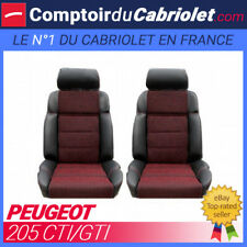 Garnitures Sièges avant pour Peugeot 205 CTI/GTI