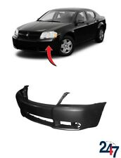 NEW DODGE AVENGER 2008 - 2013 FRONT BUMPER COVER WITH FOG LIGHT HOLES 68004697AA