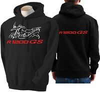 Felpa moto BMW r1200gs hoodie sweatshirt bike R 1200 GS hoody Hooded sweater