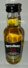 Bottiglietta Mignon White Mackay Blended Scotch Whisky Product of Scotland Super