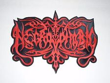 NECROPHOBIC BLACK METAL EMBROIDERED BACK PATCH