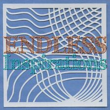 "6""x6"" Endless Inspirations Stencil, Abstract G - Free US Shipping"