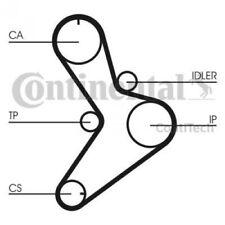 CONTITECH Timing Belt Set CT1038K2