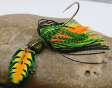 Gold Plated Standard Shaky Blade Bob4Bass Weedles Chatter-Blade Zoom Colors