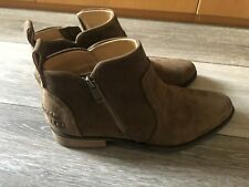 UGG Womens Aureo II PINEWOOD Zip Up Ankle Boots 1105865 SIZE 8, Waterproof NEW