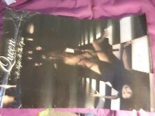 Queen 1976 Nite @ Opera Us Promo Poster G Rare Heavy Creases Tears Vtg Htf!