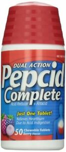 Pepcid Complete Acid Reducer Tablet Berry 50ct