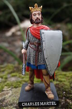 RE0137     FIGURINE STATUETTE REPRODUCTION  CHARLES MARTEL  HISTOIRE