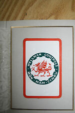 PLAYING CARDS UNIQUE Waddingtons ARTIST PROOF  Wellman, Smith Owen dragon wales