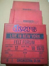 The Doors - Live in New York, Felt Forum 6 Cd box set with book