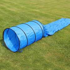 Sacktunnel 3,80 M Long Ø 60 Cm Bleu Neuf Agility Superhund24