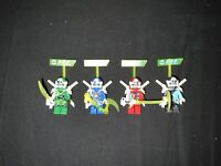 LEGO - Ninjago - Prime Empire - Digi Jay, Lloyd, Nya & Kai - 4 Mini Figure Lot