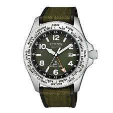 Citizen Men's Promaster GMT World Time Eco-Drive Watch BJ7100-23X NEW
