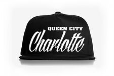 Charlotte North Carolina QUEEN CITY SNAPBACK BASEBALL HAT(rep your hood)