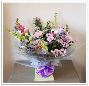 FRESH REAL FLOWERS  Delivered Country Garden Bouquet includes Free Delivery