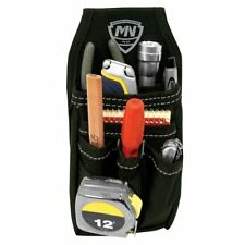 Mini Work Organizer Dual Fastening with Metal Clip 2 Large & 3 Small Pockets